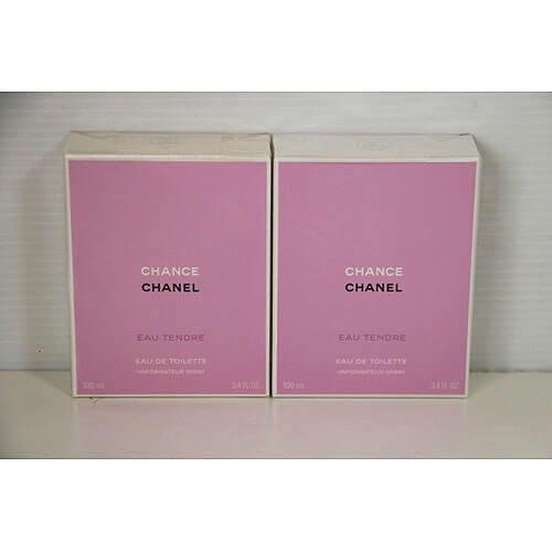【買取実績】シャネル(CHANEL) チャンス オー タンドゥル オードゥ トワレット(ヴァポリザター) 100ml ×2