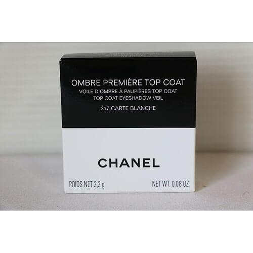 【買取実績】シャネル(CHANEL) オンブル プルミエール トップ コート 317 カルト ブランシュ