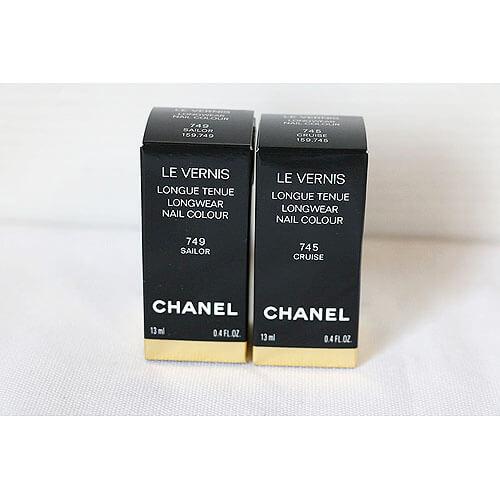 【買取実績】シャネル CHANEL ヴェルニ ロング トゥニュ 745 クルーズ 13ml 他1点