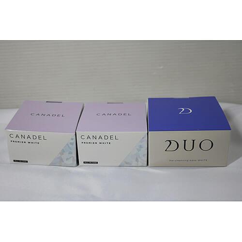 【買取実績】D.U.O. デュオ ザクレンジングバームホワイト 90g 他2点