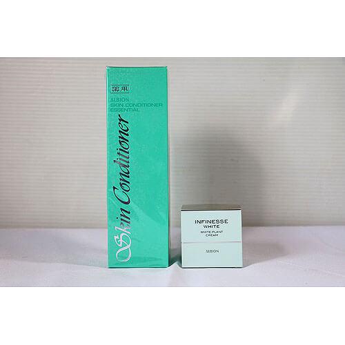 【買取実績】アルビオン 薬用スキンコンディショナー エッセンシャル 化粧水 敏感肌用 330ml 他1点